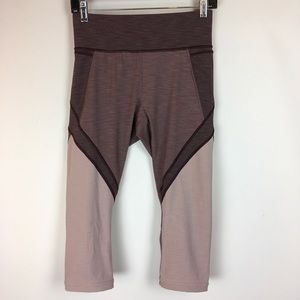 Lululemon Athletica Fitness Workout Cropped Pants